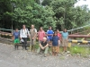 Our Survey Group in front of oil well site